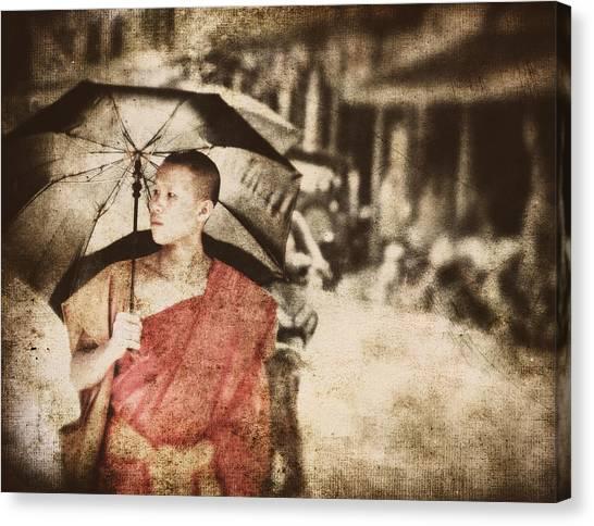 Long Ago In Luang Prabang Canvas Print
