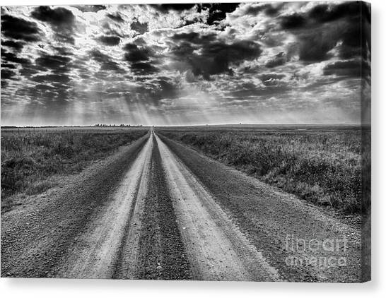 Long And Lonely Canvas Print