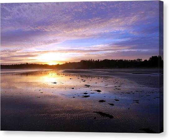 Long Beach, British Columbia Canvas Print