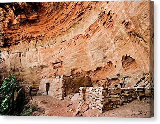 Long Canyon 05-219 Canvas Print