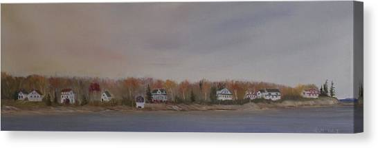 Long Cove Fall Canvas Print