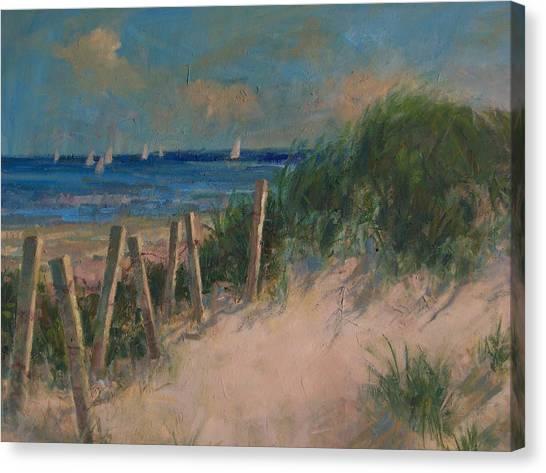 Long Island Dunes Canvas Print
