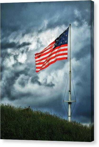 Take A Knee Canvas Print - Long May It Wave by Bill Swartwout Fine Art Photography