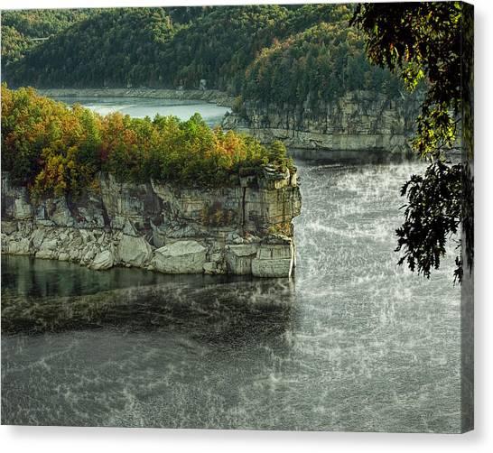 Long Point Clff Canvas Print