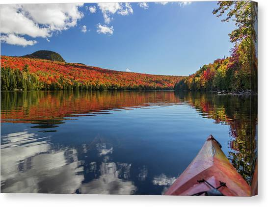 Long Pond From A Kayak Canvas Print