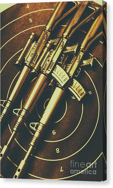 Special Forces Canvas Print - Long Range Tactical Rifles by Jorgo Photography - Wall Art Gallery