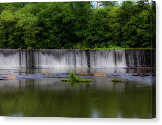 Long Waterfall Canvas Print