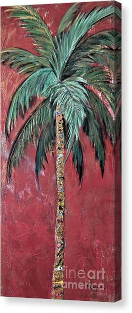 Longboat Key Palm Canvas Print