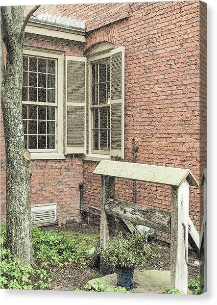 Longfellow's Maine Home Canvas Print