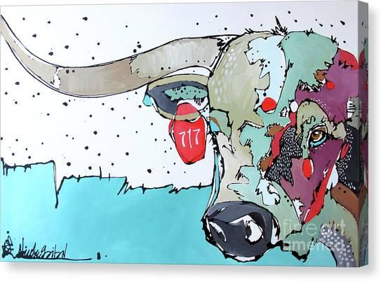 Longhorn No. 717 Canvas Print