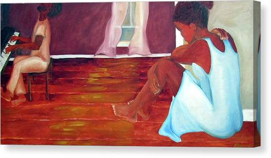 Longing Canvas Print by Alima Newton