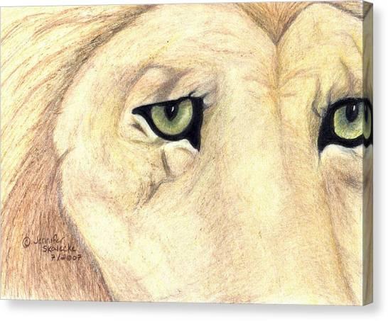 Longing Canvas Print by Jennifer Skalecke