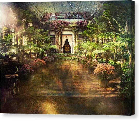 Longwood Gardens Canvas Print