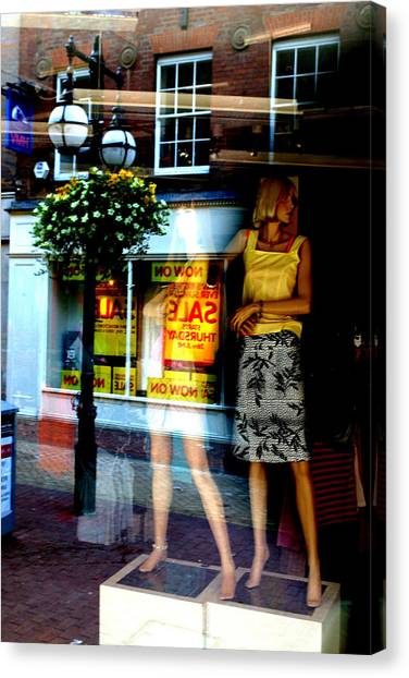 Look Back In Me Canvas Print by Jez C Self