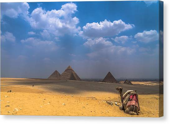 Look Towards The Ancient Wonder Canvas Print