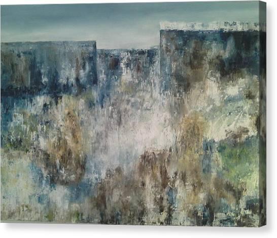 Looking At The Horizon Canvas Print