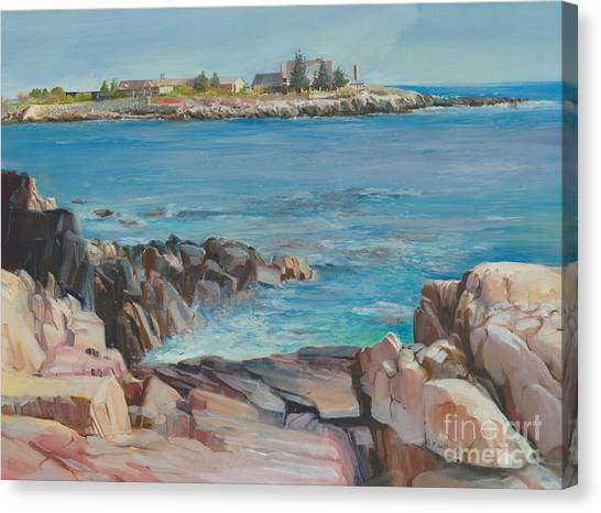 Looking At Walkers Point Estate  Canvas Print
