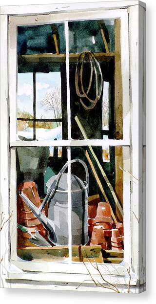 Looking For Spring Canvas Print by Art Scholz