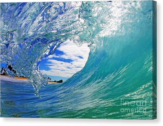 Surf Canvas Print - Looking Forward by Paul Topp