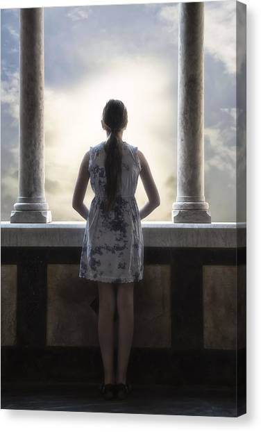 Teenager Canvas Print - Looking Into The Future by Joana Kruse