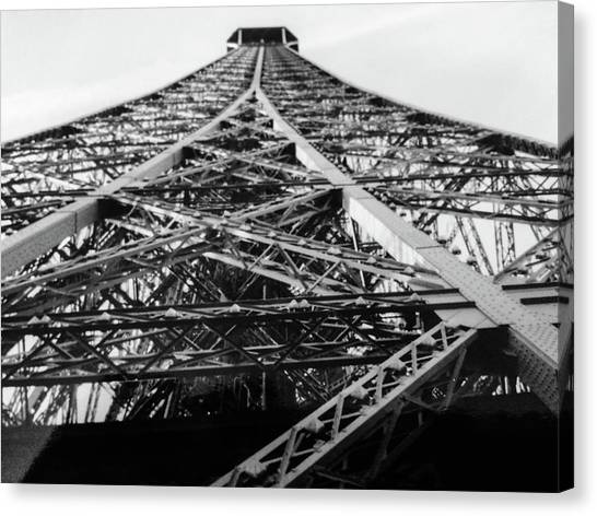 Looking Up From The Eiffel Tower Canvas Print