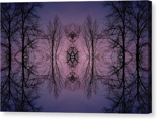 Mandala Canvas Print - Lookout by Annie Walczyk