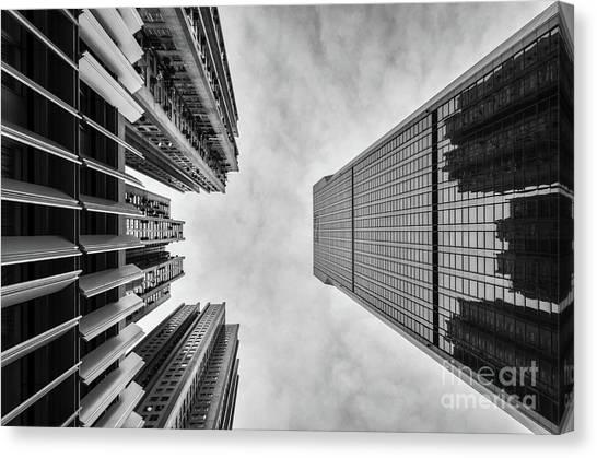 Hongkong Canvas Print - Looming by Dean Harte