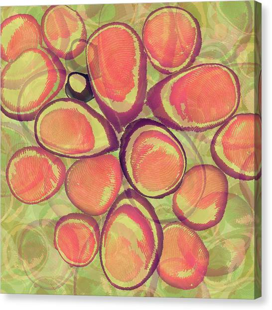 Loopy Dots #13 Canvas Print