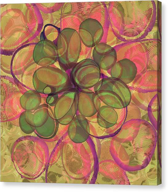 Loopy Dots #20 Canvas Print
