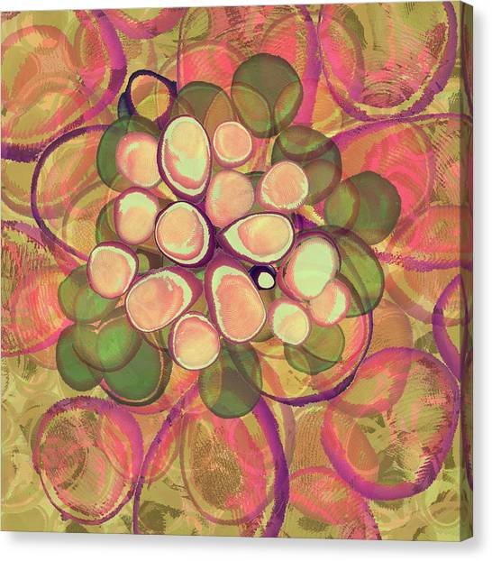 Loopy Dots #21 Canvas Print