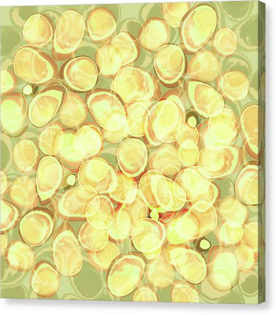 Loopy Dots #3 Canvas Print