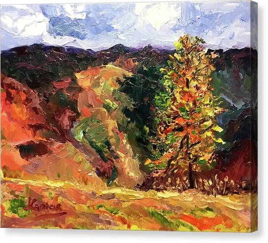 Loose Landscape Canvas Print
