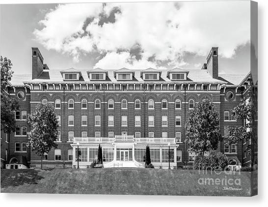 University Of Iowa Canvas Print - Loras College Keane Hall by University Icons
