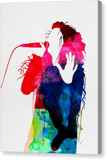 Bands Canvas Print - Lorde Watercolor by Naxart Studio