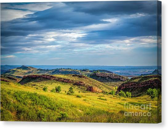 Colorado State University Canvas Print - Lory State Park by Jon Burch Photography