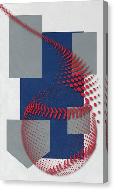 Los Angeles Dodgers Canvas Print - Los Angeles Dodgers Art by Joe Hamilton