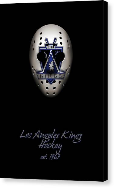 Los Angeles Kings Canvas Print - Los Angeles Kings Established by Joe Hamilton