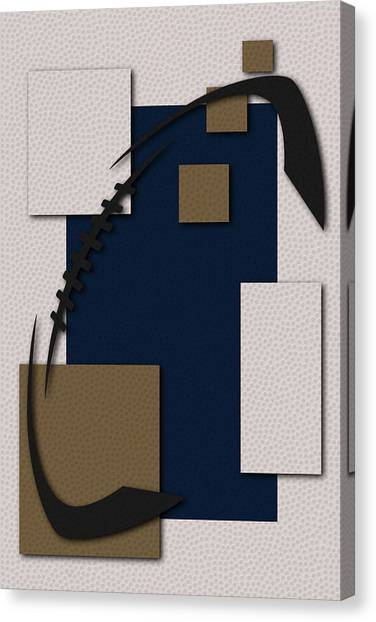 Los Angeles Rams Canvas Print - Los Angeles Rams Football Art by Joe Hamilton