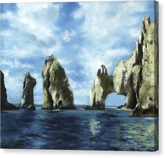 Los Arcos Canvas Print