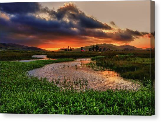 Los Osos Valley Canvas Print