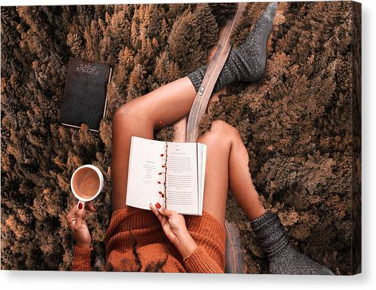 Lose Yourself In A Good Book Canvas Print