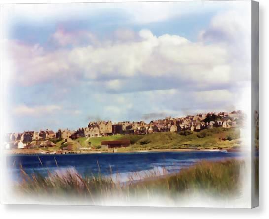 Lossiemouth Bay Canvas Print