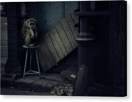 Factories Canvas Print - Lost Animals -  Series Nr.4 by Zoltan Toth