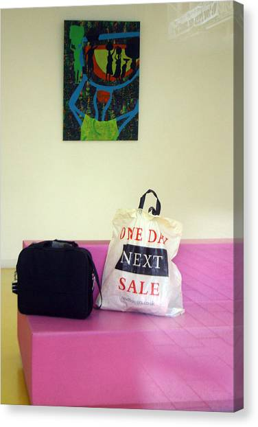 Lost Bags Canvas Print by Jez C Self