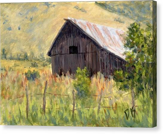 Lost Barn Canvas Print