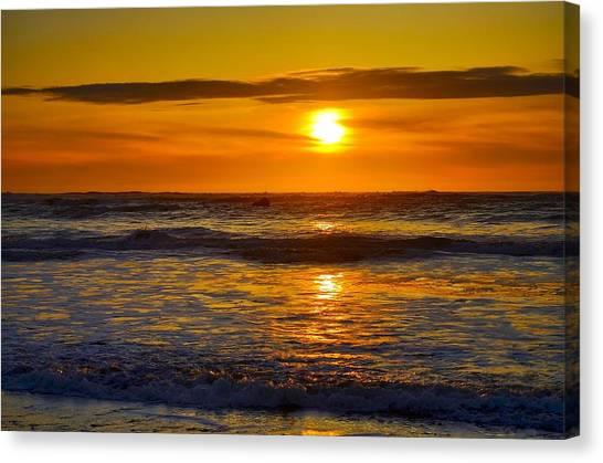 Lost Coast Sunset Canvas Print