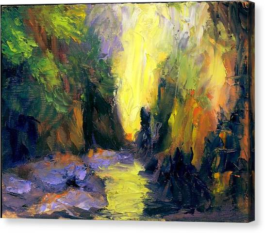 Lost Creek Canvas Print