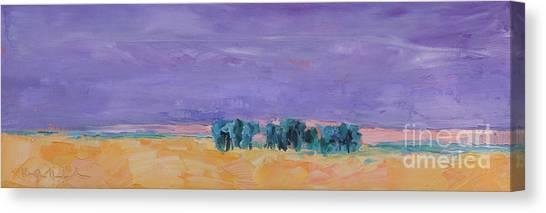 Lost Horizon Canvas Print by Marsha Heimbecker