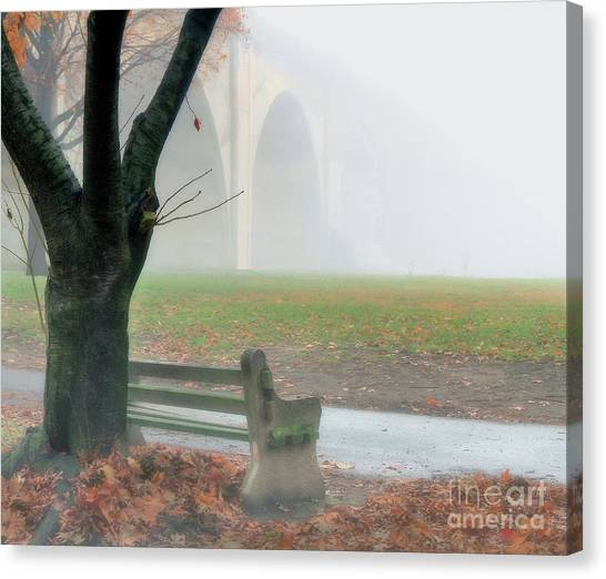 Lost In A Fog Canvas Print