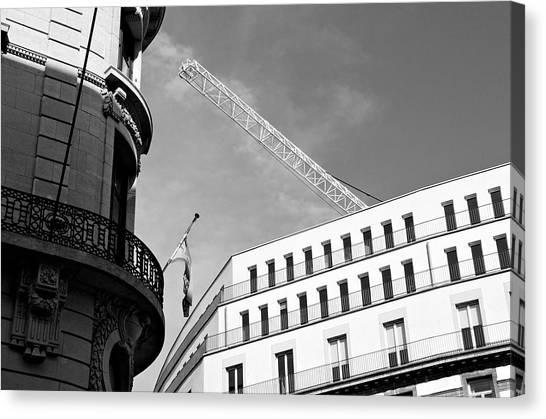 Lost In Brussels Canvas Print by Mark Chevalier